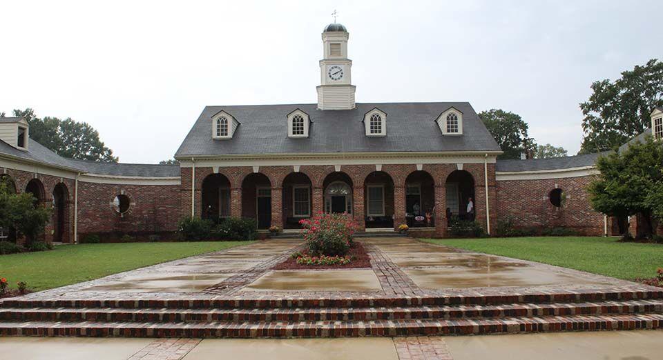 Presbyterian Home courtyard dedication