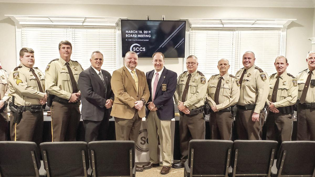 St. Clair BOE recognizes student resource officers (photo gallery)