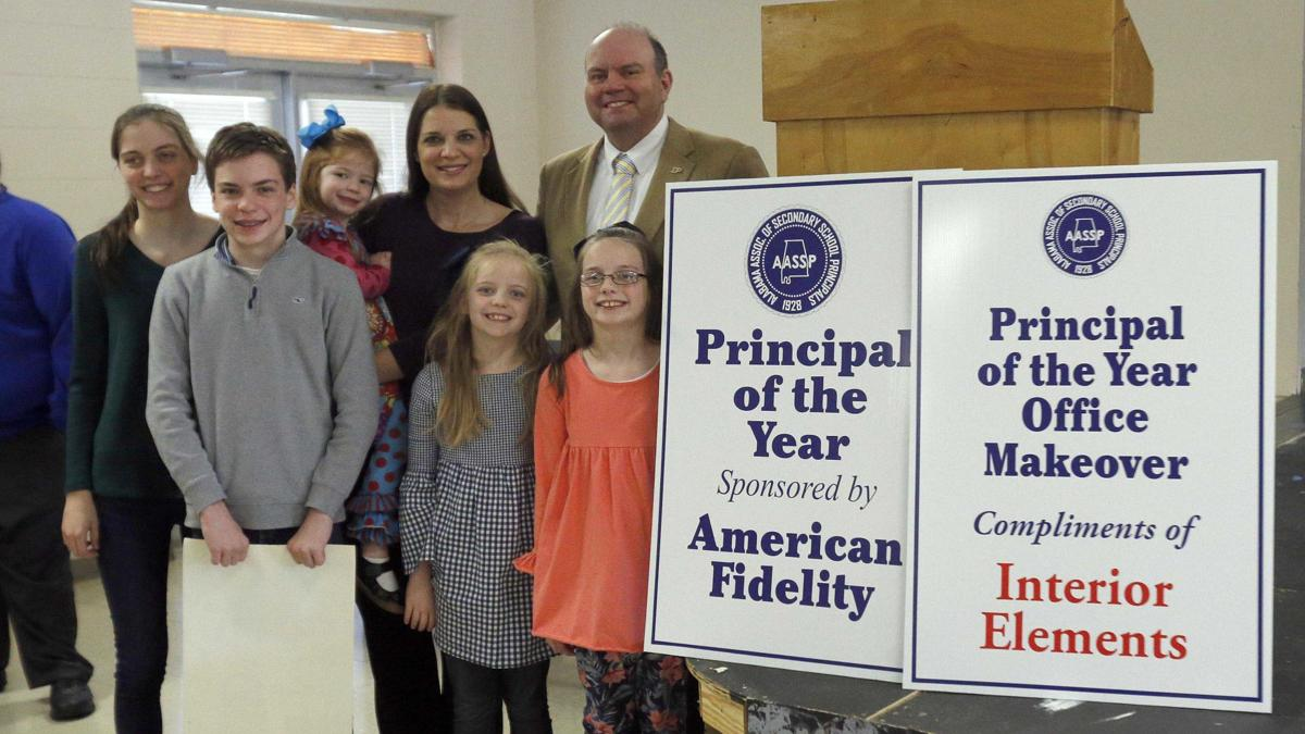 Photos: Principal of the Year Dr. Adam Clemons