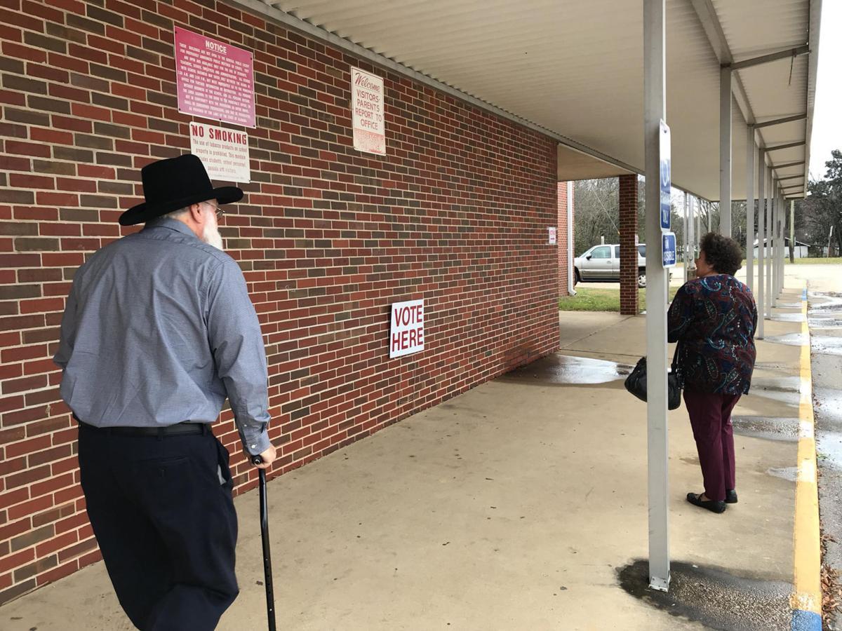 Saks High School polling