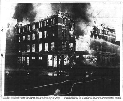 Look Back ... to the end of the Alabama Hotel, 1944