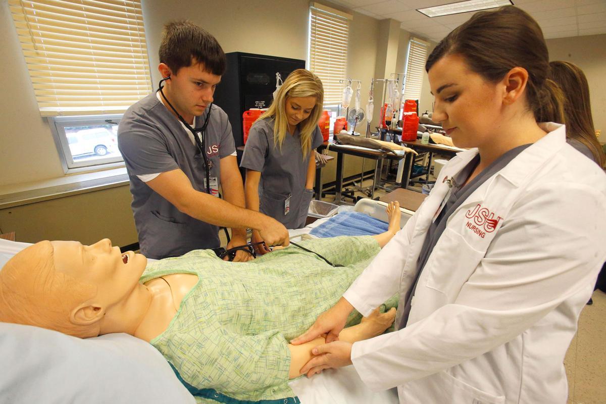 JSU nursing students