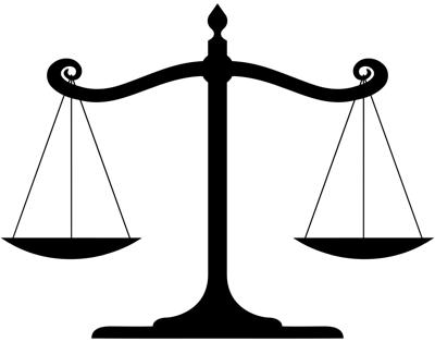 court teaser scales of justice