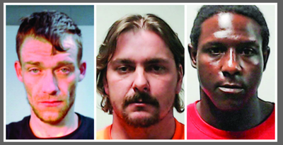 3 facing felony charges in Ragland