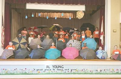 R.L. Young Elementary fourth-graders present 'Rain or Shine'