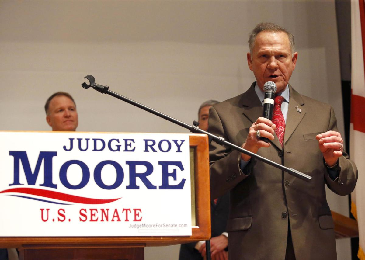 Roy Moore election night