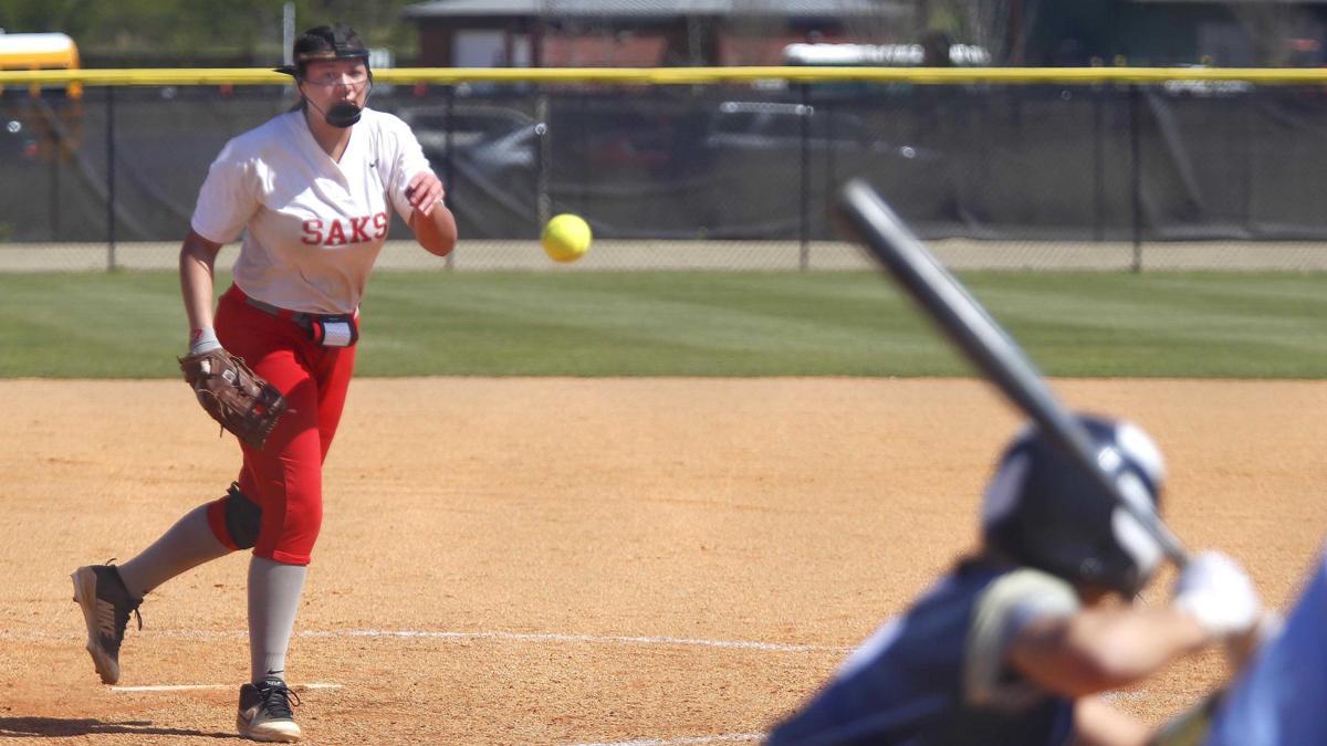 Prep Softball Photos: Saks vs. Randolph County