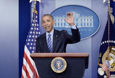 President Barack Obama holds news conference