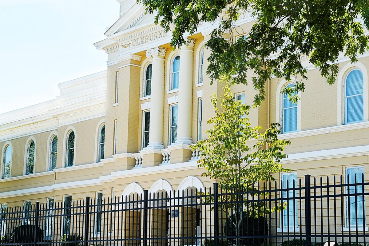 Cleburne courthouse