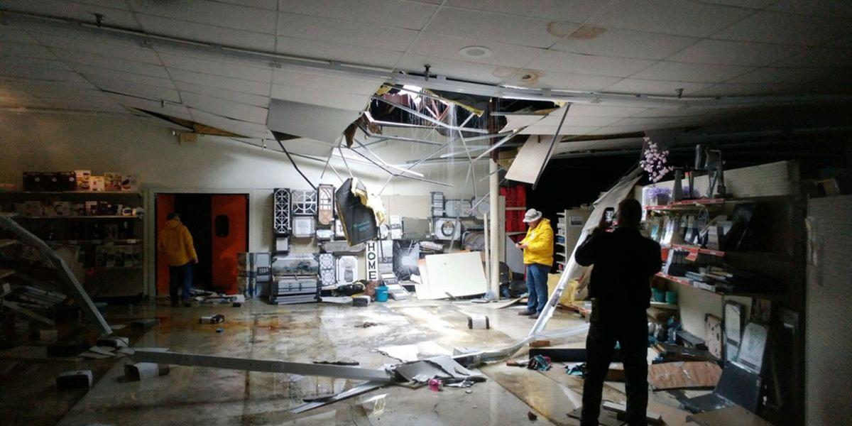 Rain likely cause of roof collapse at Sylacauga Big Lots