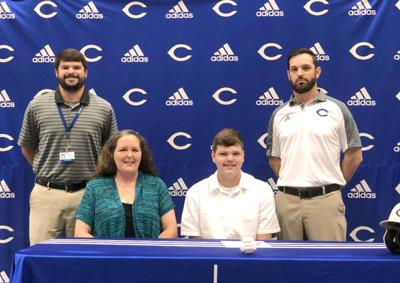 Holmes signs with Talladega College