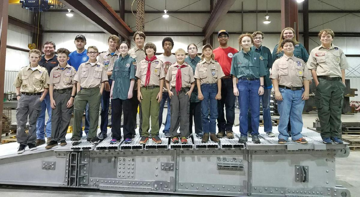 In Your Community ... Scouts tour local industries and organizations