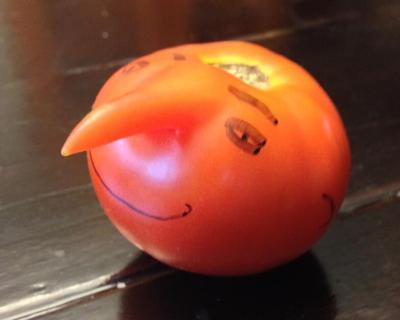 Ugly tomato