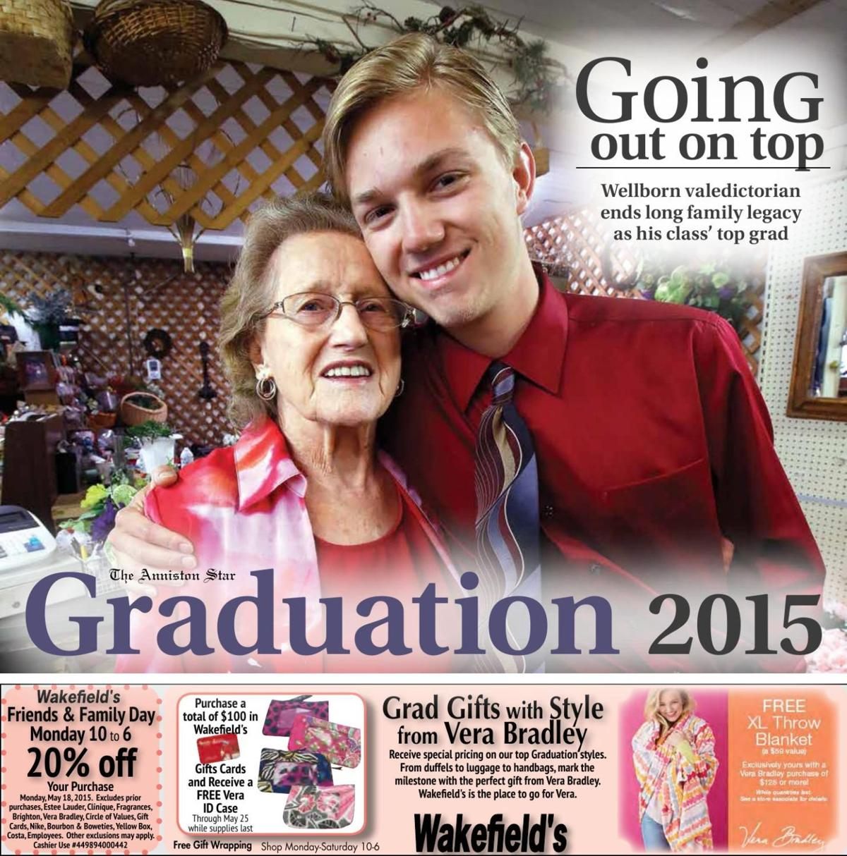 Graduation 2015: Anniston Star