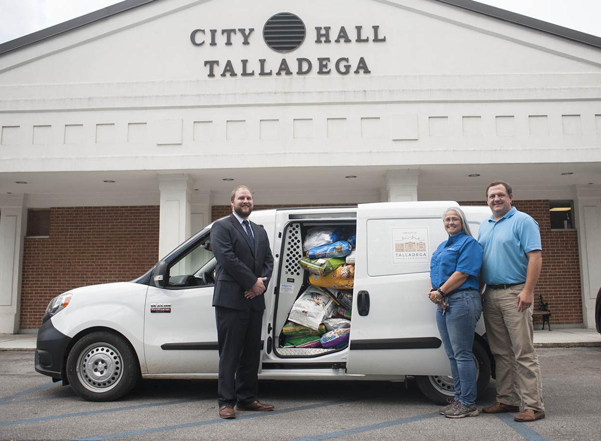 talladega city chamber collect 2 000 pounds of food supplies for animals displaced by. Black Bedroom Furniture Sets. Home Design Ideas