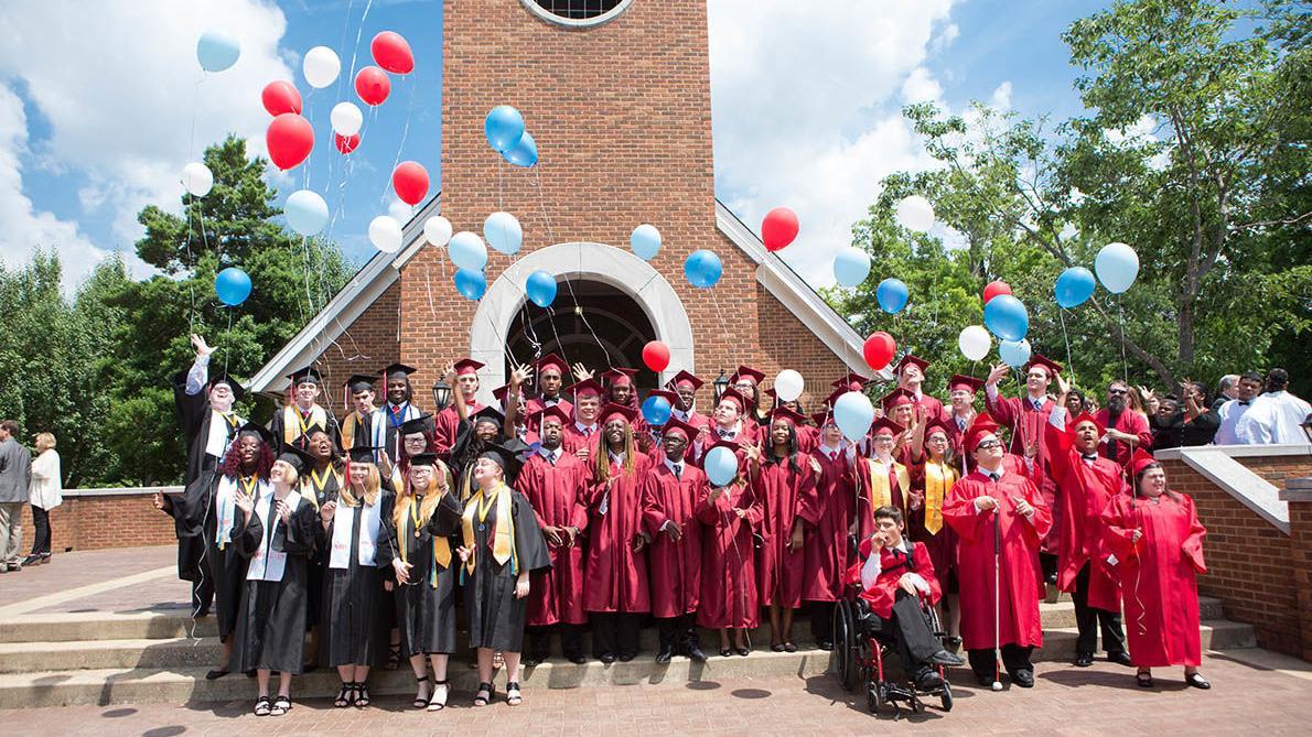 Graduation scenes for AIDB (photo gallery)