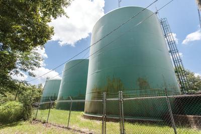 Pell City water storage tanks