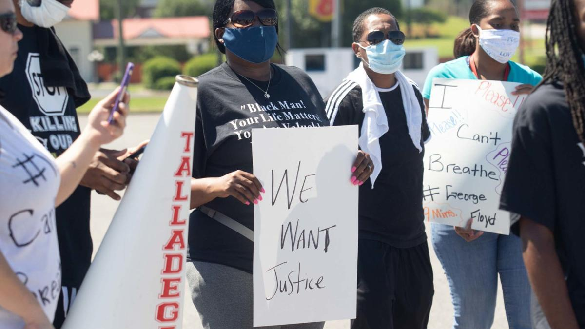 March in Talladega to protest death of George Floyd proves peaceful (photo gallery)