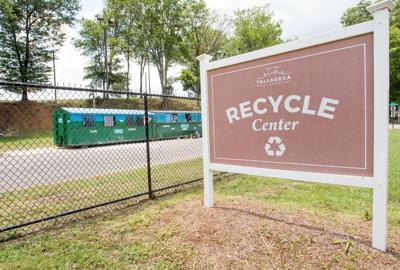 Talladega recycling center