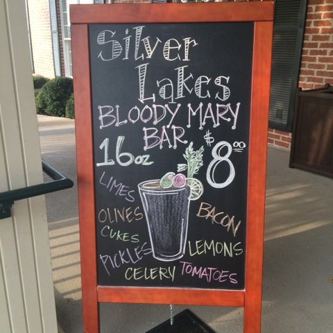 Silver Lakes Bloody Mary bar