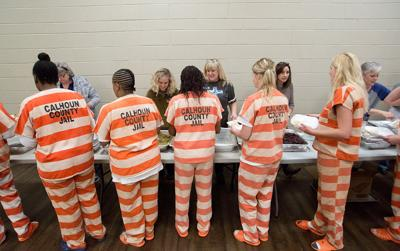 Calhoun County inmates get a taste of normalcy with