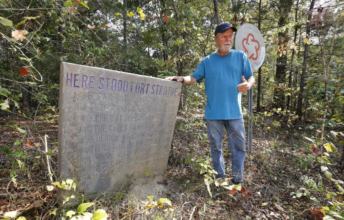 Fort Strother marker