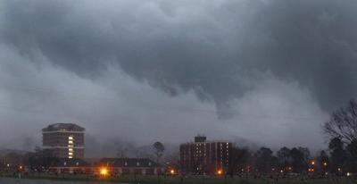 JSU storm clouds