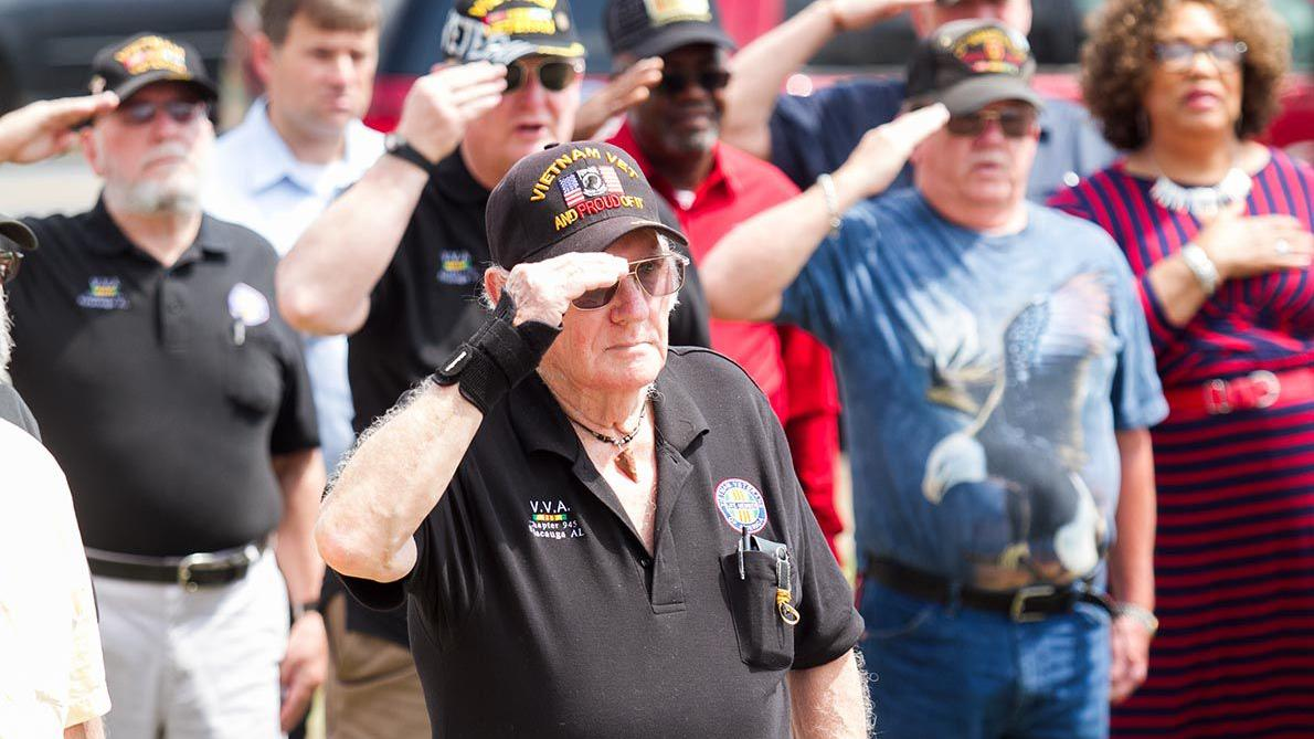 Vietnam War Veterans Recognition Day in Sylacauga (photo gallery)