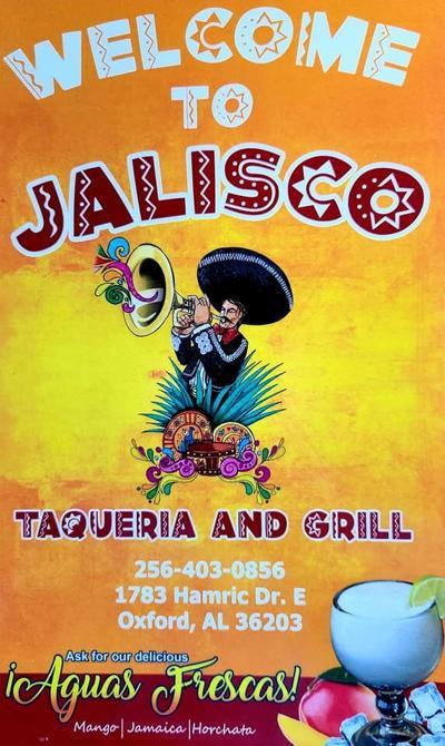 jalisco menu