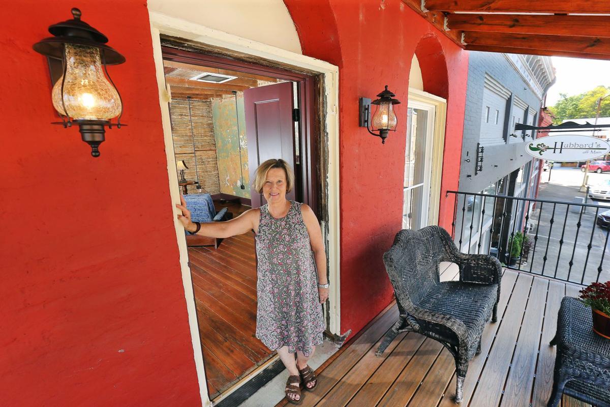 Charlotte Hubbard loft balcony