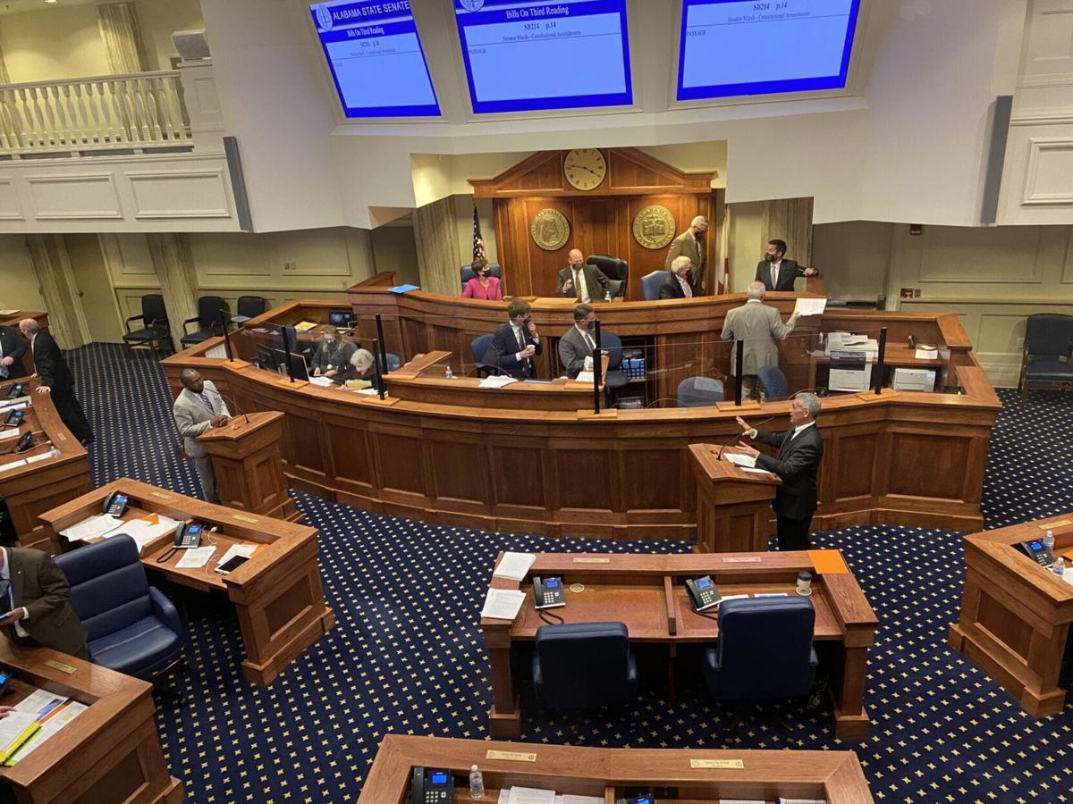 Senate chamber view