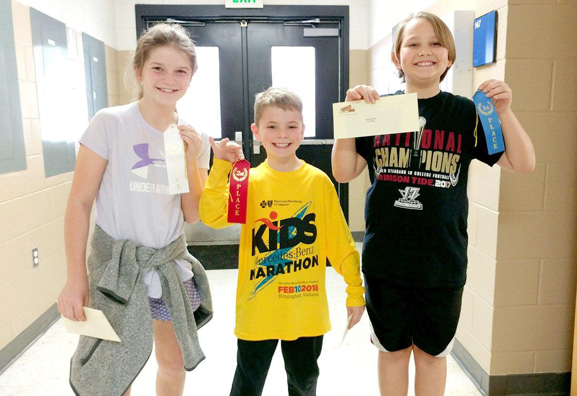 Coosa Valley Elementary School announces History Fair winners