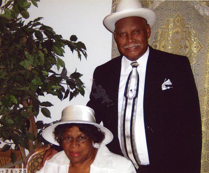 The Rev. and Mrs. Frank Thomas Sr.