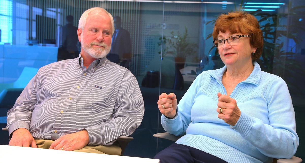 Mike Feeney and Mary Feeney