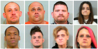 8 facing felony drug charges