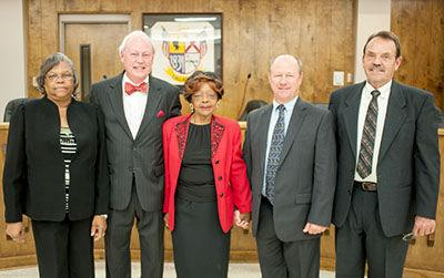 Talladega City Board of Education 2015-19