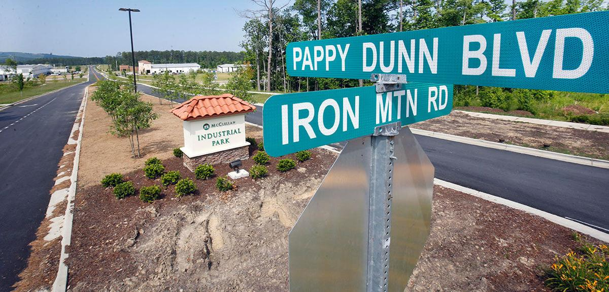 Pappy Dunn Boulevard and Iron Mountain Road