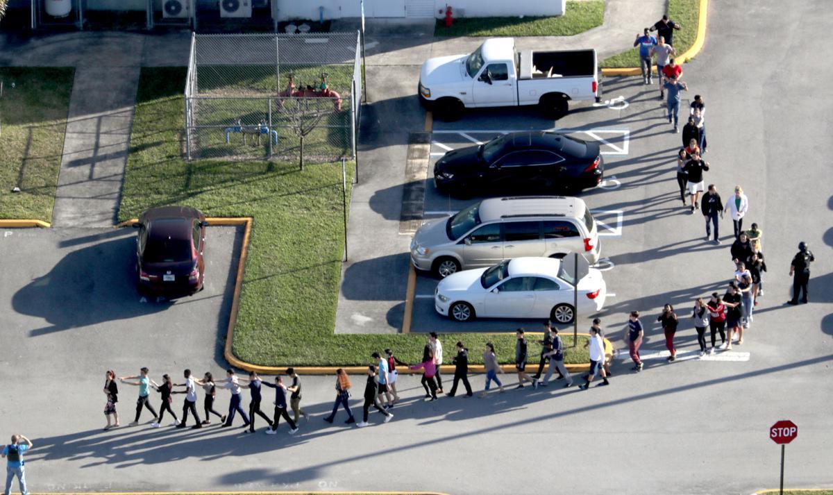 School shooting in Parkland, Fla.