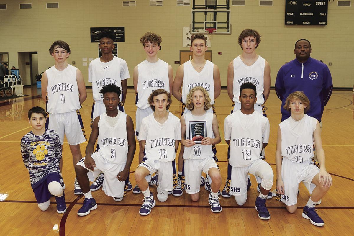 Springville Tiger ninth-grade team
