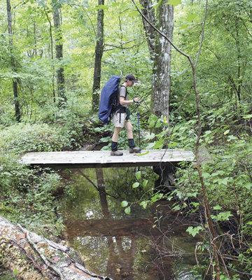 Hiking the Pinhoti Trail