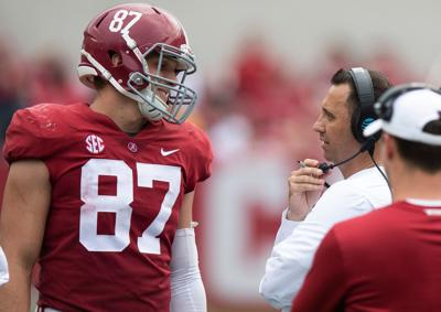 Tight end remains the biggest uncertainty within Alabama's high-powered offense