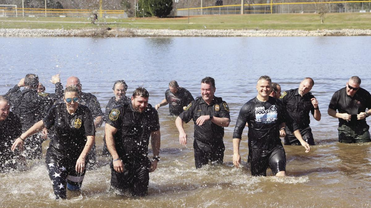 Scenes from the Pell City Police Department's 2020 Polar Plunge (photo gallery)