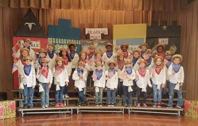 R.L. Young Elementary 2nd-graders present Wild West-themed program