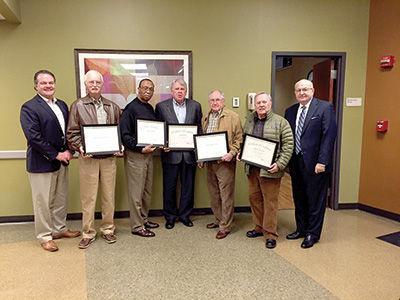 Sylacauga Healthcare Authority board members receive certificates