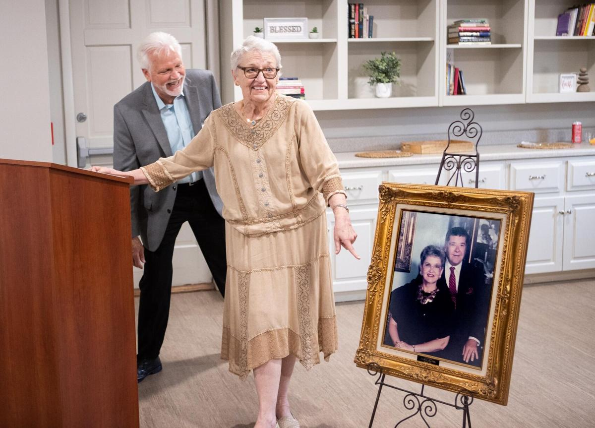 Lakeside Hospice honors founders with luncheon