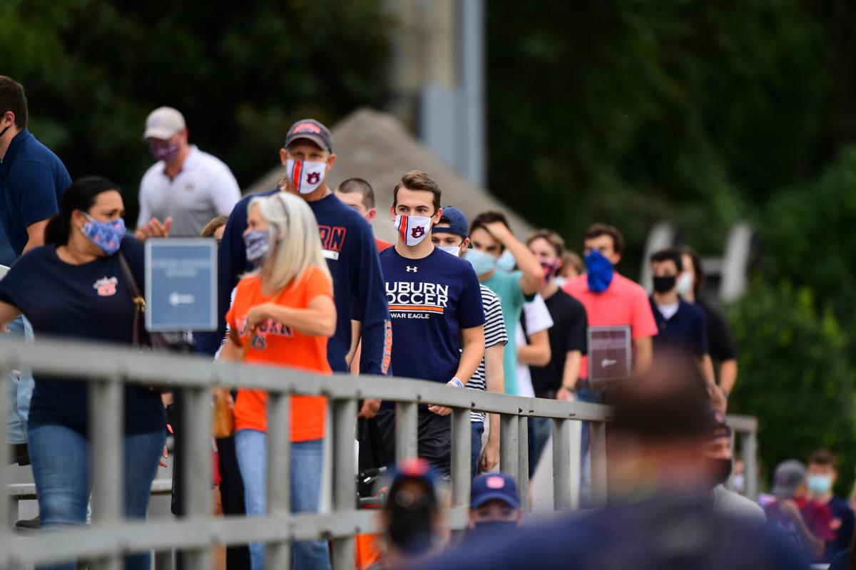 Inside Auburn's first on-campus sporting event of the ...