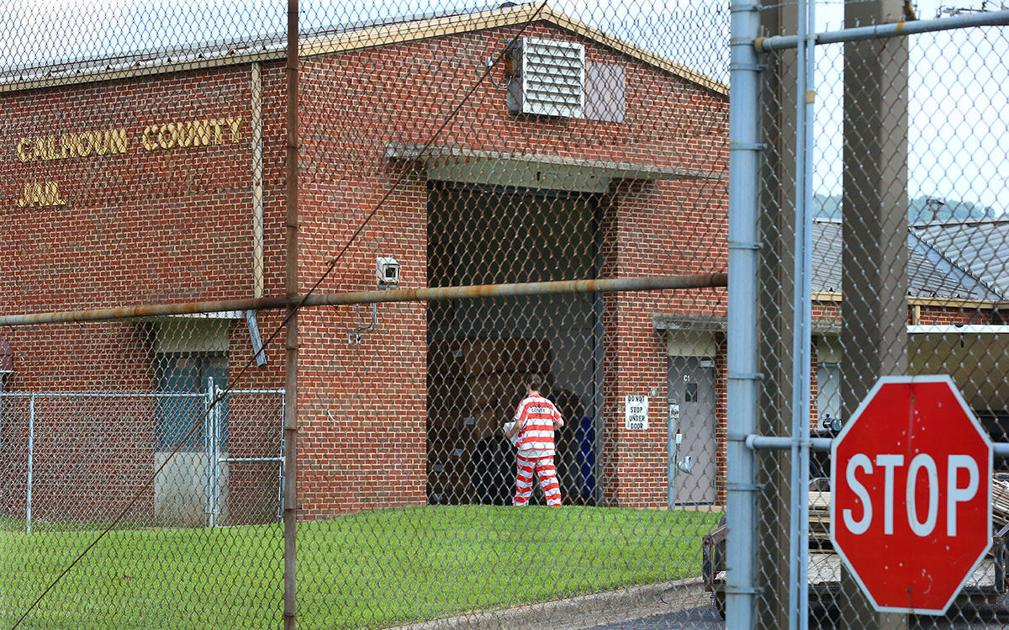 Many federal inmates pulled from Calhoun County Jail
