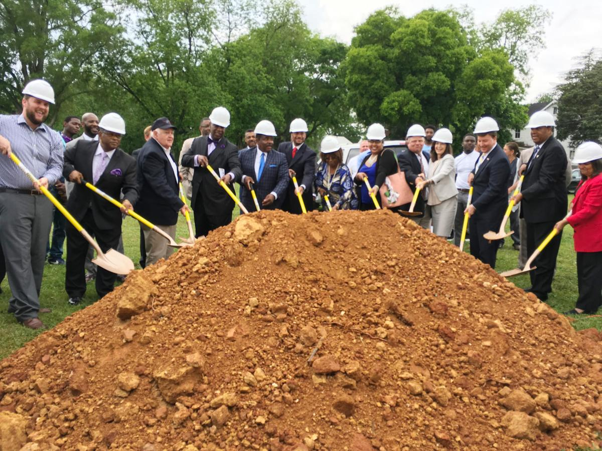 Talladega College groundbreaking ceremony