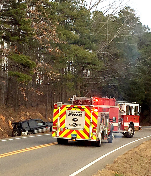 Crash sends 2 to hospital