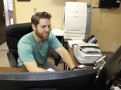 New Eden Career Tech counselor Jared Mills